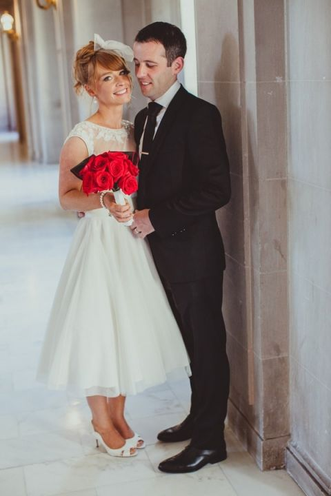 City Hall Wedding Dress