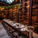 A Rustic Urban Wedding Reception at Brooklyn Winery | Kelly Williams, Photographer | http://heyweddinglady.com/romantic-rustic-urban-wedding-at-brooklyn-winery/