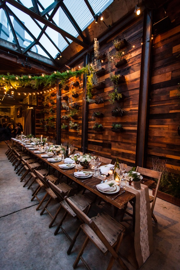 Romantic Rustic Urban Wedding At Brooklyn Winery Hey