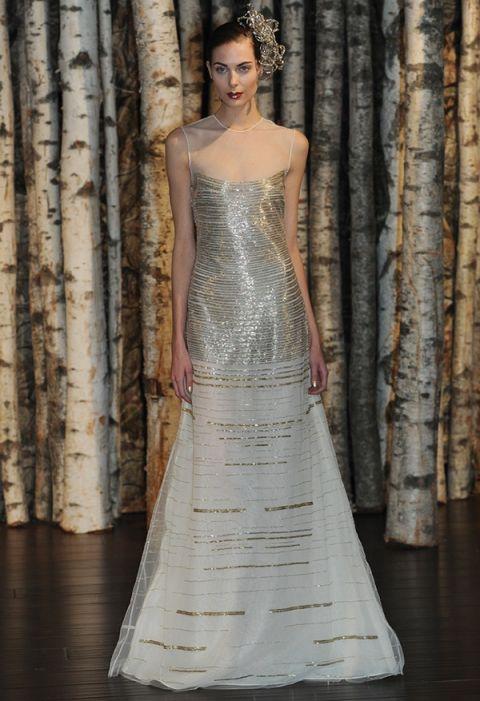 20s Wedding Dresses 93 Nice Modern Metallic Wedding Dress