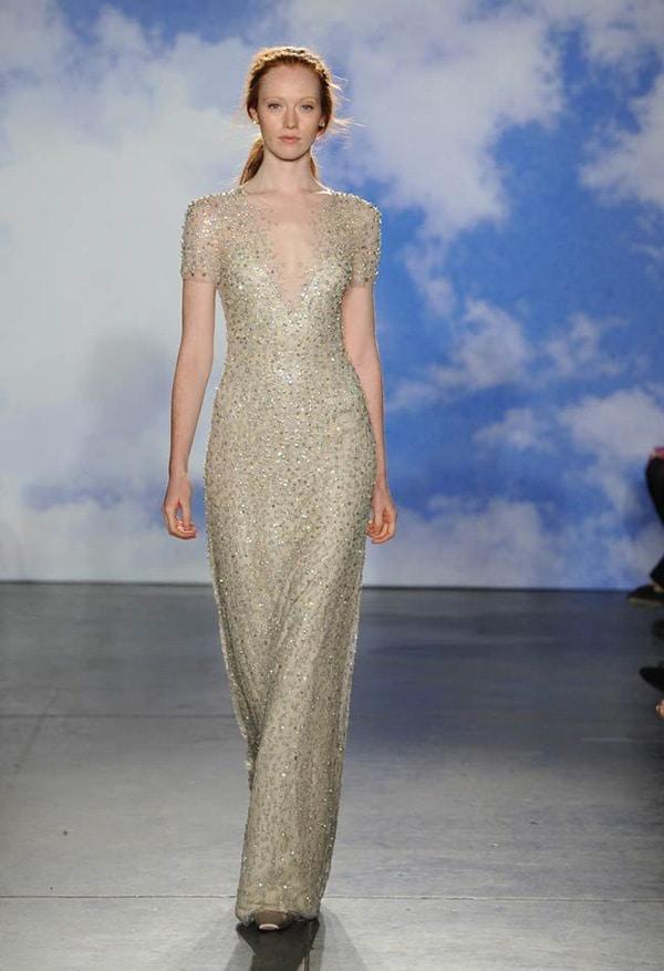 Champagne wedding dresses 2015