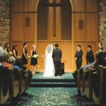 A Woodsy Wedding Chapel Ceremony   Tonie Christine Photography   See More! https://heyweddinglady.com/fresh-and-chic-modern-rustic-washington-wedding/