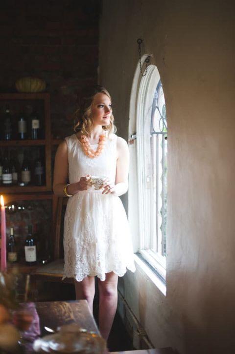Vintage Spring Anthropologie Inspired Bridal Shower Hey Wedding Lady