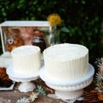 Simple but elegant white wedding cakes | Tikko Weddings | See More! https://heyweddinglady.com/elegant-and-colorful-wine-country-wedding/