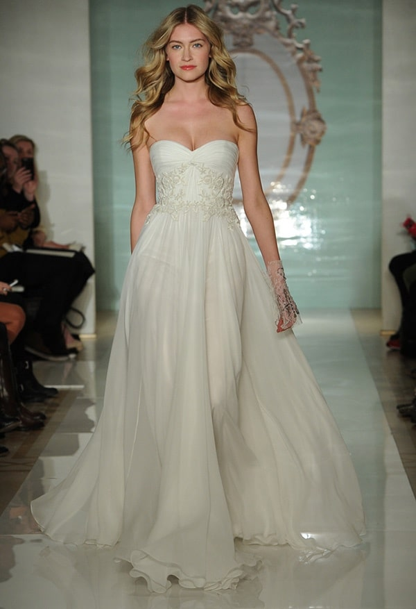 8 reem acra a line wedding dress spring 2015 The 4 Main Dress Styles That Will Dominate In 2015