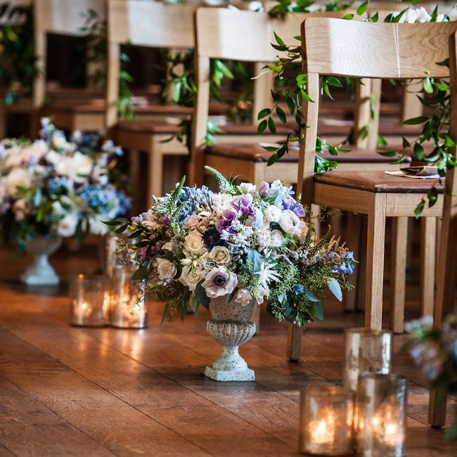 The Ceremony Decor: Soft And Romantic Candlelight Wedding Inspiration » Hey