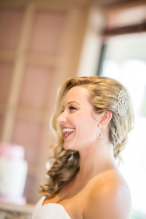How gorgeous is this elegantly glam bride?! | Maru Photography | See More! http://heyweddinglady.com/glam-purple-and-green-enchanted-forest-wedding-from-maru-photography/