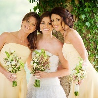 Vintage Bridal Style, Pretty Maids in Yellow and Wildflower Bouquets! | Weddings by Kara | See More! http://heyweddinglady.com/jazz-age-spring-wedding-in-ireland-by-weddings-by-kara/