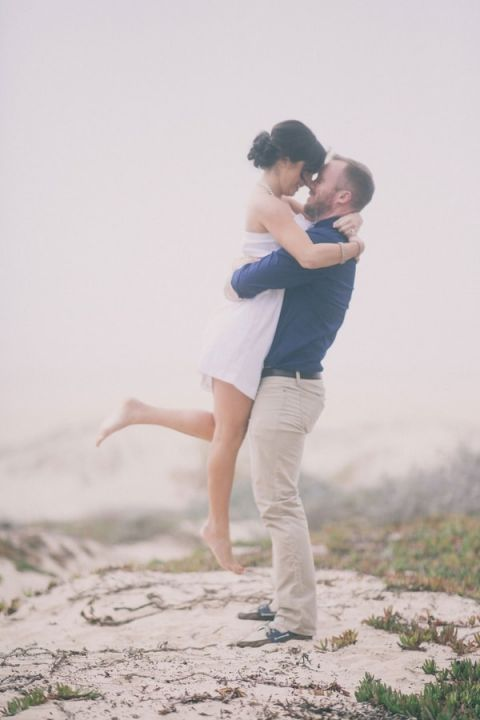 Frolicking On The Beach For A Chic Nautical Wedding Shoot