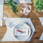 Handmade Arrow Place Settings for a Rustic Bohemian Wedding | Bonnallie Brodeur Photography | See More! https://heyweddinglady.com/handmade-bohemian-woodland-wedding-from-bonnallie-brodeur-photography/