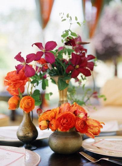 Orange Orchid Moroccan Floral Arrangements Ariella Chezar Meg