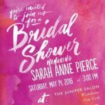 Fabulous Fuchsia Bridal Shower Inspiration with Wedding Paper Divas!
