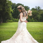 Glam Punk Princess Bride Wedding Style | Maddie K. Doucet Photography | See More! http://heyweddinglady.com/punk-princess-bride-wedding-styled-shoot-from-maddie-k-doucet-photography/