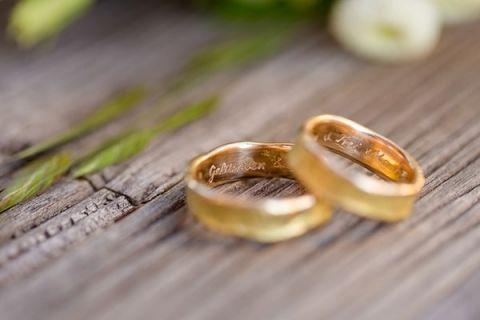 Italian Wedding Band 65 New Raw Hammered Gold Wedding