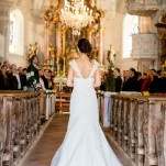 A Classic Wedding Ceremony in an Alpine Mountain Chapel | Wedding Memories | See More! https://heyweddinglady.com/alpine-wedding-in-austria-from-wedding-memories/