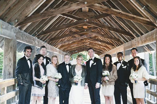 Luxe Snowy Winter Wedding From Anastasia Photography Hey Wedding Lady