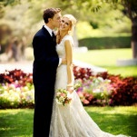 Gorgeous Garden Wedding Portraits | Pepper Nix Photography | See More! http://heyweddinglady.com/classic-vintage-blush-and-ivory-wedding-from-pepper-nix-photography/