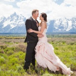 Black Tie Wedding in the Mountains | Heather Erson Photography | See More! http://heyweddinglady.com/wild-mountain-wedding-with-a-blush-gown-from-heather-erson-photography/
