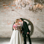 Romantic Industrial Glam Wedding with Old World Charm | Erin Johnson Photography | See More! http://heyweddinglady.com/romantic-industrial-glam-wedding-from-erin-johnson-photography/