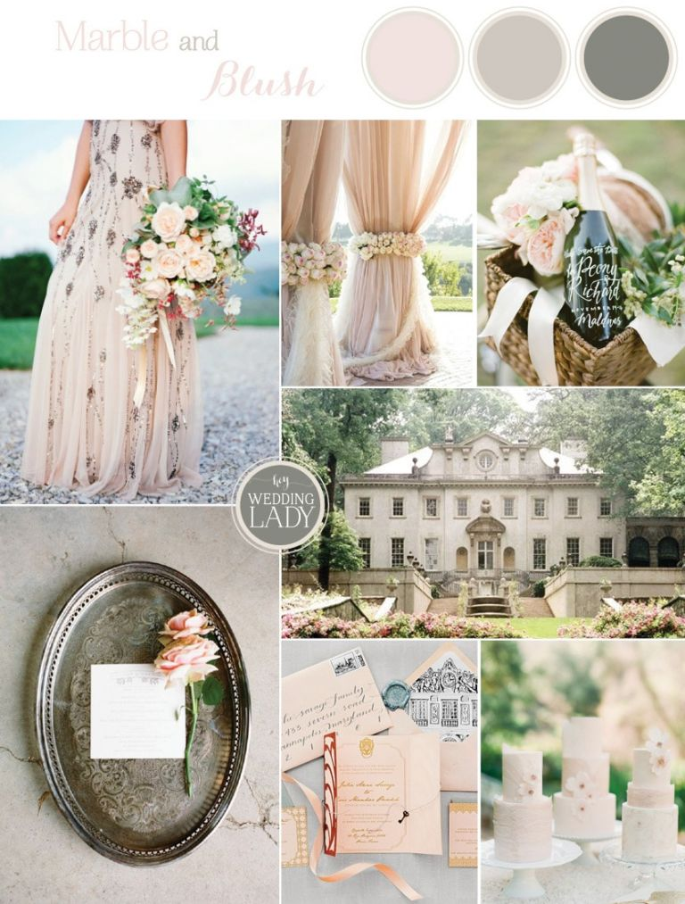 Elegant Country Manor Inspiration in Marble and Blush | See More! https://heyweddinglady.com/elegant-country-manor-wedding-inspiration-in-marble-and-blush/