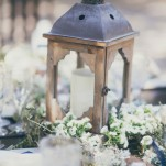 Rustic Wood Lanterns and Tealights for a Romantic Woodland Elopement | Alexandra Wallace Photography | See More! http://heyweddinglady.com/the-ultimate-rustic-glam-elopement-from-alexandra-wallace-photography/