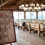 Wedding Reception in a Mountain Lodge Overlooking the Mountain Lodge | Wedding Memories | See More! https://heyweddinglady.com/alpine-wedding-in-austria-from-wedding-memories/