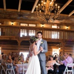 First Dance in the Peach Barn for a Romantic Southern Wedding | Captured By Colson Photography | See More! https://heyweddinglady.com/handmade-southern-wedding-at-the-peach-barn-by-captured-by-colson-photography/