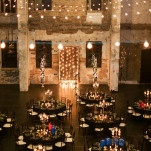 Industrial Glam Wedding Reception Lighting | Erin Johnson Photography | See More! http://heyweddinglady.com/romantic-industrial-glam-wedding-from-erin-johnson-photography/