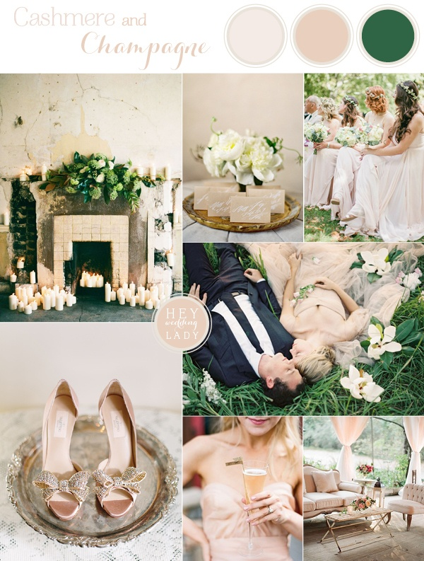 Cashmere and champagne warm neutral wedding inspiration for Elegant neutral paint colors