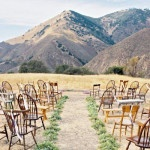 Natural Earthy Wedding Inspiration in Terra Cotta, Gold & Green