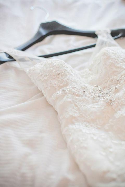 Romantic Lace Wedding Dress   Dust Studios   See More! http://heyweddinglady.com/handmade-and-homespun-country-wedding-from-dust-studios/