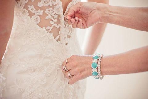 Elegant Sheer Lace Back Wedding Dress   Dust Studios   See More! http://heyweddinglady.com/handmade-and-homespun-country-wedding-from-dust-studios/