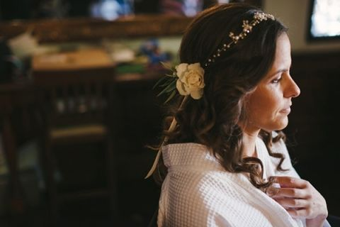 Relaxed and Romantic Bohemian Southern California Bride Getting Ready   Vitaly M Photography   See More! http://heyweddinglady.com/historic-villa-wedding-in-southern-california/