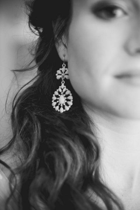 Love these wedding earrings!   Dust Studios   See More! http://heyweddinglady.com/handmade-and-homespun-country-wedding-from-dust-studios/