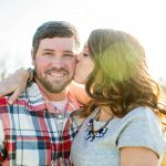 Rustic Americana Engagement for the Fourth of July!