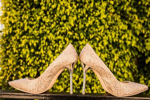 Coral Wedding Shoes 69 Fabulous Champagne and Sparkle Wedding