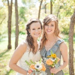 Romantic Rustic Yellow, Orange, and Gray Wedding | Dust Studios | See More! https://heyweddinglady.com/handmade-and-homespun-country-wedding-from-dust-studios/