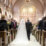 Stunning Cathedral Length Veil | BRC Photography | See More! http://heyweddinglady.com/impossibly-chic-modern-art-inspired-wedding/
