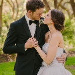 Glamorous Black Tie Texas Garden Wedding | PhotoHouse Films | See More! http://heyweddinglady.com/ethereal-texas-garden-wedding-in-gray-pink-and-gold/