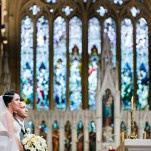 Stunning Cathedral Wedding at St. Marys in Sydney, Australia | Hilary Cam Photography | See More! http://heyweddinglady.com/midsummer-nights-dream-wedding-in-a-secret-garden/
