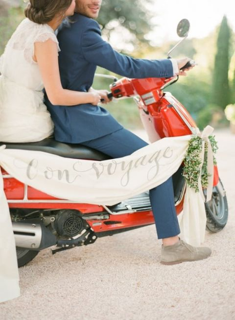 Red, White, and Blue French Country Wedding | KT Merry Photography | See More! https://heyweddinglady.com/patriotic-red-white-blue-french-country-twist/
