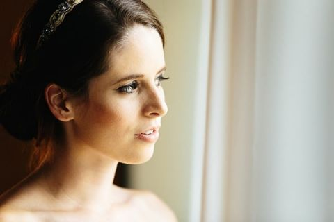 Soft and Romantic Wedding Makeup | Tim Kyle Photography | See More! http://heyweddinglady.com/cowgirl-up-the-ultimate-country-chic-bridal-portraits/