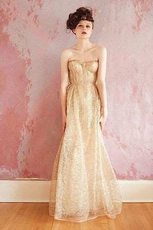 The Ultimate Guide to Sparkling Metallic Dresses for Your Wedding ...