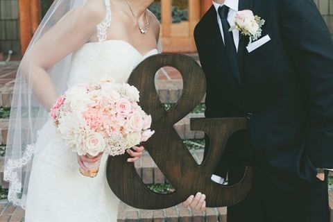 Pink, Mint and Gold Wedding with Lots of Sparkle - Hey Wedding Lady