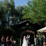 Romantic Winery Wedding With a Purple Floral Arch | heidi-o-photo | See More! http://heyweddinglady.com/rustic-winery-wedding-in-southern-california/