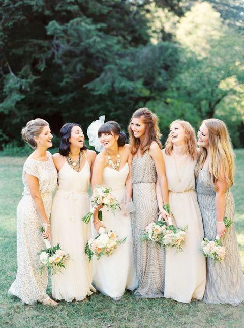 Shimmer Bridesmaid Dress