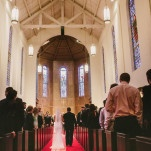 A Classic Black Tie Cathedral Wedding Ceremony in Texas | PhotoHouse Films | See More! https://heyweddinglady.com/sweetly-opulent-black-tie-texas-wedding/