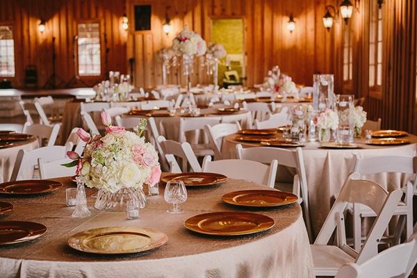 Cream And Blush Black Tie Wedding: Sweetly Opulent Black Tie Texas Wedding
