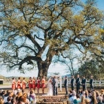 A Romantic and Rustic Wedding Ceremony at Santa Margarita Ranch | Lisa Mallory Photography | See More! https://heyweddinglady.com/autumn-harvest-wedding-at-santa-margarita-ranch/