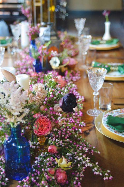 Boho Brewery Wedding Inspiration In Rich Jewel Tones Hey